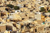Aerial view of Jaisalmer, Rajasthan, India