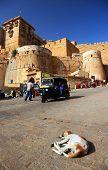 Street scene in Jaisalmer, Rajasthan, India