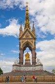 LONDON, UK - AUGUST 16, 2014: Prince Albert monument, Hyde park