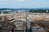 Rome Aerial View From Vittorio Emanuele Monument