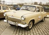Rally Of Classical Cars, Moscow, Volga GAS