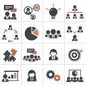 Teamwork Organization Support Strategy Community Vector Concept