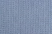 Texture Of A Blue Knitted Sweater