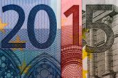 2015 created out of Euro bank papers