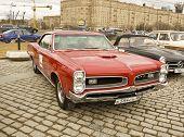Old Retro Car Pontiac