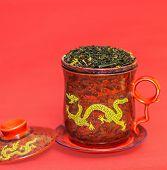 Mug with dragon