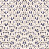 Seamless with vintage pattern.