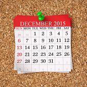 December 2015  Calendar