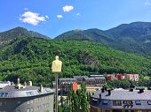 The Pyrenees Mountains Surrounding Andorra La Vella
