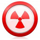 radiation icon atom sign
