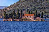 Small Island With Monastery