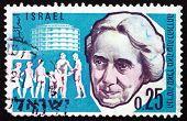 Postage Stamp Israel 1960 Henrietta Szold