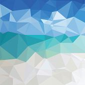 Geometric Ice Background