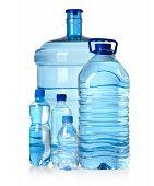 Various sized Water Bottles