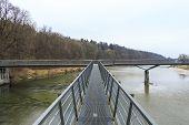 Isar River view