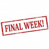 Final Week! stamp