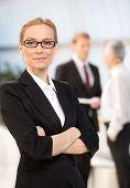 Confident Female Executive