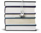 Book With Headphones