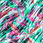 brush oil paint strokes seamless pattern