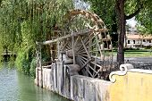 Medieval Waterwheel Watering