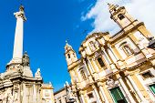 pic of domination  - Church of Saint Dominic in Palermo - JPG