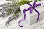Gift Box With Lavender