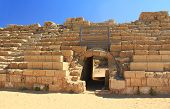 Hippodrome Entrance in Caesarea Maritima National Park