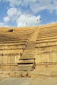Steps of the Amphitheater in Caesarea Maritima National Park