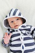 Boy In Striped Blouse