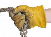 Glove and Chains