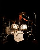 Charly Antolini, Swiss jazz drummer and his Swingin`Band