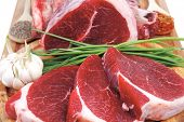 image of veal meat  - fresh meat  - JPG