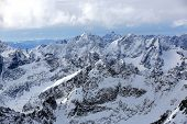 Majestic Hight Tatra Mountains Landscape