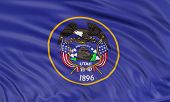 3D Utah Flag