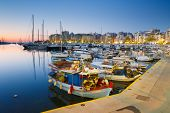 pic of zea  - Fishing boats and yachts in Zea Marina in Athens, Greece.