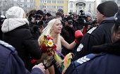 Bulgaria Femen Protest