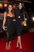 LOS ANGELES - JAN 20:  Christina Milian, Liz Milian at the