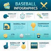 Baseball Infographics Set