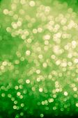 Blurred Green Abstract Background