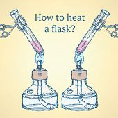 How To Heat A Flask In Vintage Style