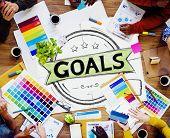 foto of encouraging  - Goal Aspiration Expectation Encourage Dreams Concept - JPG