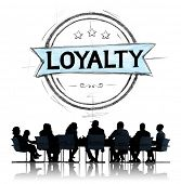 foto of loyalty  - Loyalty Values Honesty Integrity Honest Concept - JPG