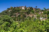 pic of hilltop  - Hilltop village of Deia Mallorca Baleares Spain - JPG