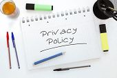 image of policy  - Privacy Policy  - JPG