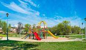 picture of swing  - swing carousel in the park for children - JPG