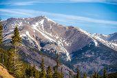 foto of monarch  - the colorado rocky mountains near the monarch pass - JPG