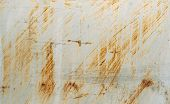 picture of scratch  - scratched metal painted silver paint - JPG