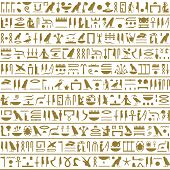 pic of hieroglyph  - Ancient Egyptian hieroglyphs - JPG