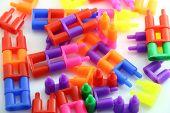 Lego Brick Full Color poster