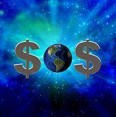 SOS tierra monetaria
